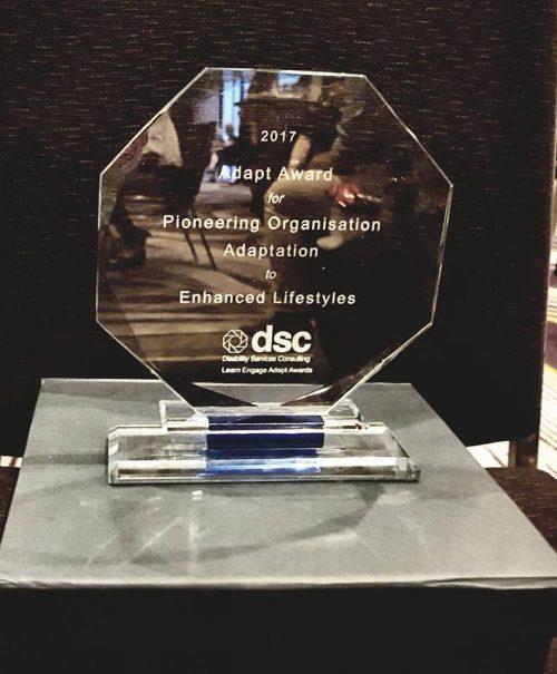 Enhanced Lifestyles 2017 Adapt Award Winners For